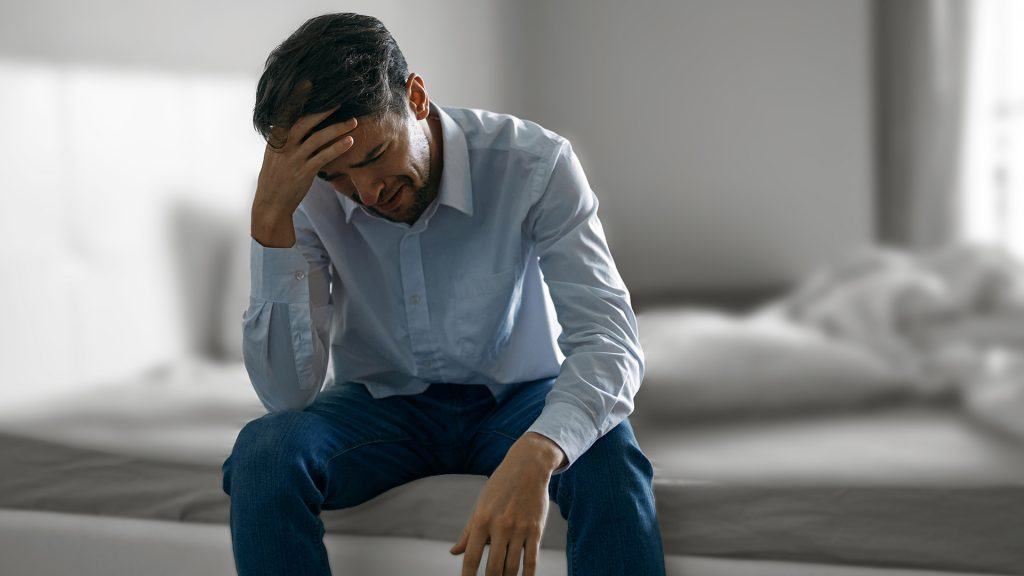 lost his job due to Covid - 19 and went into depression
