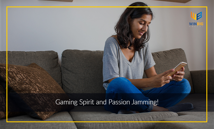 Gaming sprit and passion Jamming